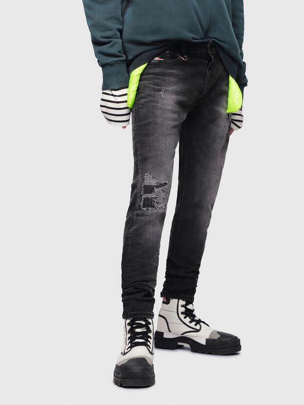 Tepphar 069DW, Black/Dark grey - Jeans