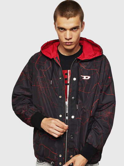 Diesel - LCP-AKI-CASA, Red - Jackets - Image 5