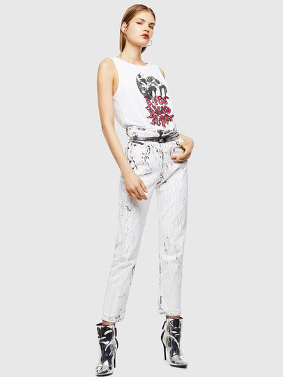 Diesel - T-TRIXY, White - Tops - Image 6