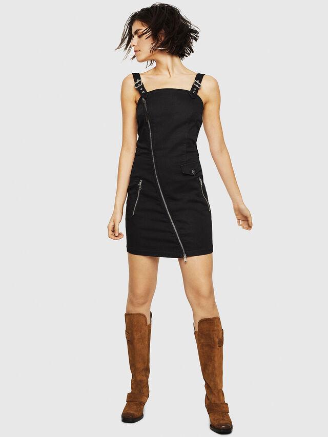 Diesel - D-ARTYN JOGGJEANS, Black - Dresses - Image 6