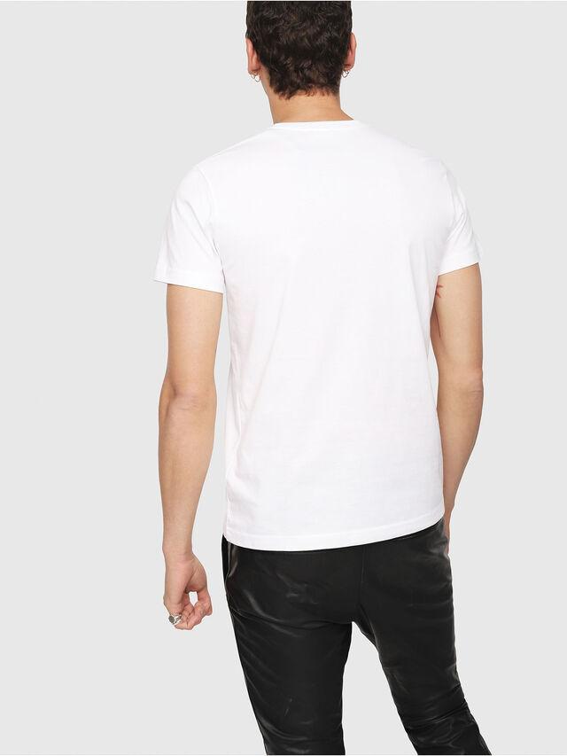 Diesel - T-DIEGO-YORI, White - T-Shirts - Image 2