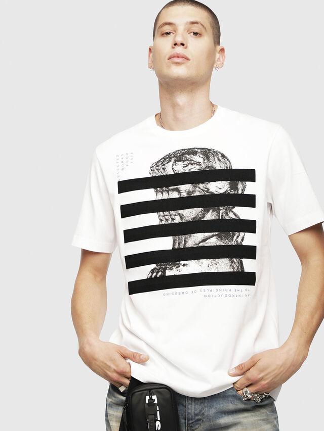 Diesel - T-JUST-YO, White - T-Shirts - Image 1