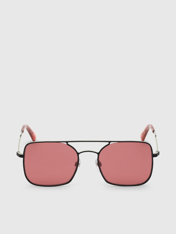 DL0302, Pink/Black - Sunglasses