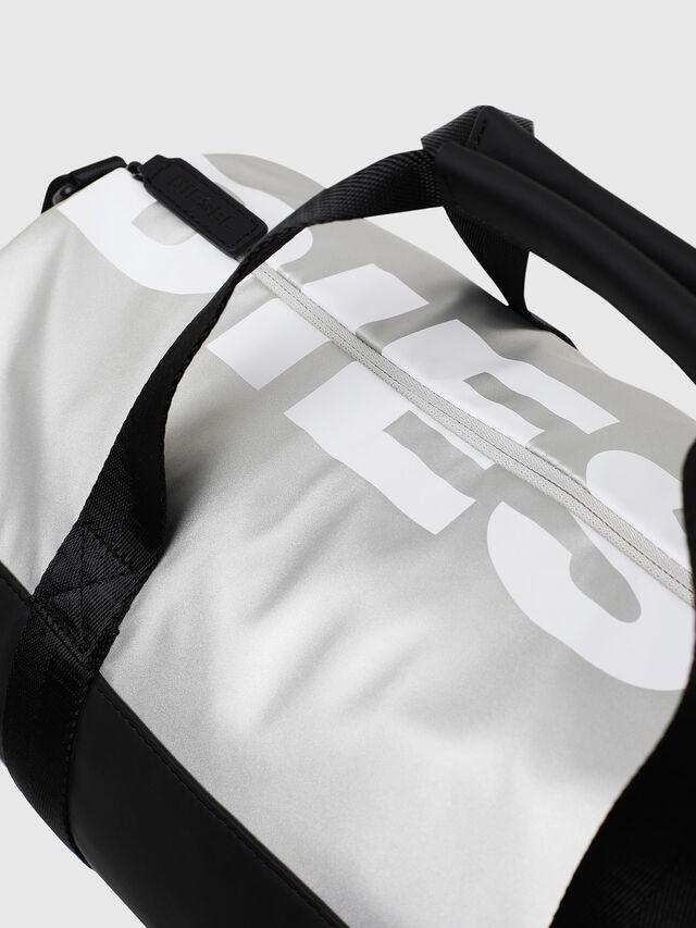 Diesel - BOLD DUFFLE, Black/Silver - Bags - Image 4