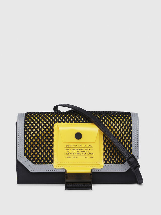 Diesel - DIPSY, Blue/Yellow - Small Wallets - Image 1