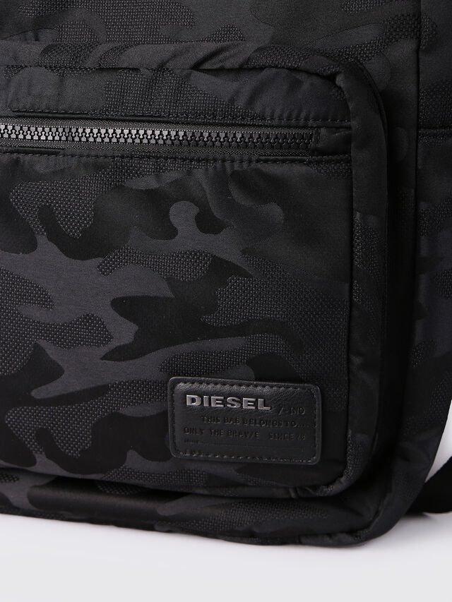 Diesel F-DISCOVER BACK, Black - Backpacks - Image 4