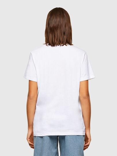 Diesel - T-DARIA-R3, White - T-Shirts - Image 2