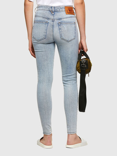 Diesel - Slandy High 009TG, Light Blue - Jeans - Image 2
