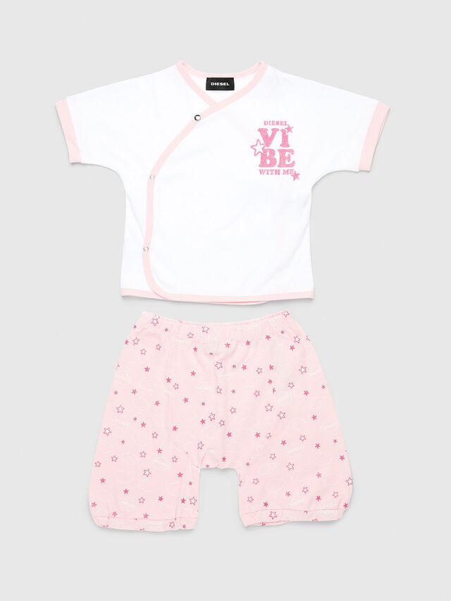 Diesel - SARI-NB-SET, Pink/White - Jumpsuits - Image 1