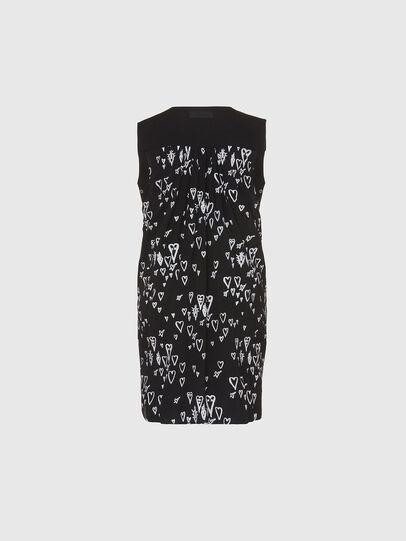 Diesel - D-EVEN, Black - Dresses - Image 2
