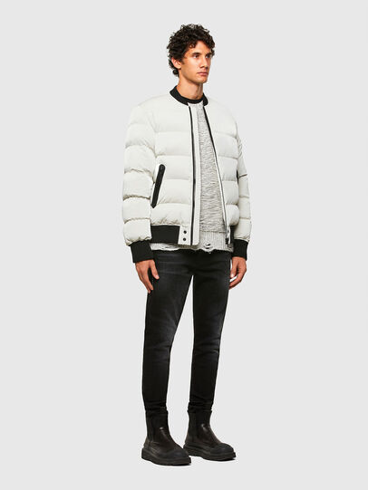 Diesel - W-ON-A, White - Winter Jackets - Image 6