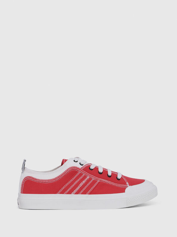 S-ASTICO LOW LACE, Red/White - Sneakers