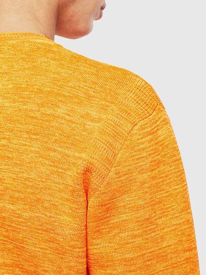 Diesel - K-SPECIALS, Orange - Knitwear - Image 5