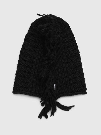 Diesel - KRED, Black - Knit caps - Image 2