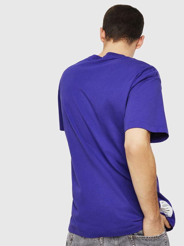 Diesel - T-WALLACE-Y5, Dark Violet - T-Shirts - Image 4