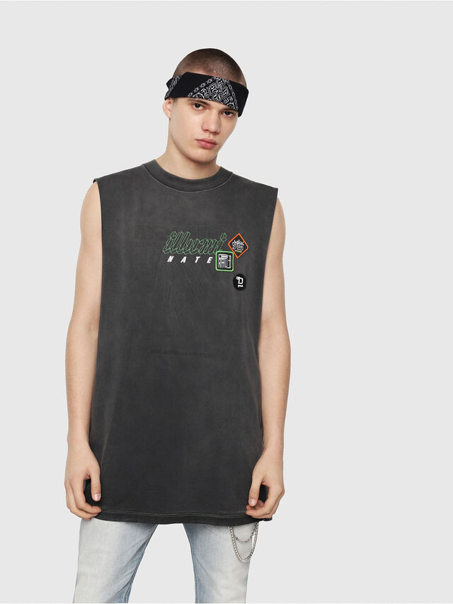 Diesel - T-MINOLESS, Black - T-Shirts - Image 1