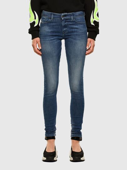 Diesel - Slandy 009FF, Medium blue - Jeans - Image 1