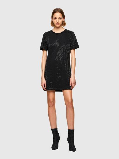 Diesel - D-ARY-R1, Black - Dresses - Image 1