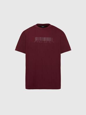 T-JUST-SLITS-X87, Red - T-Shirts