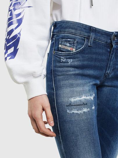 Diesel - Slandy 009IG, Medium blue - Jeans - Image 5