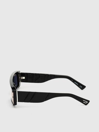 Diesel - DL0318, Black/Blue - Sunglasses - Image 3
