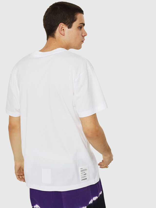 Diesel - T-WALLACE-Y5, White - T-Shirts - Image 2