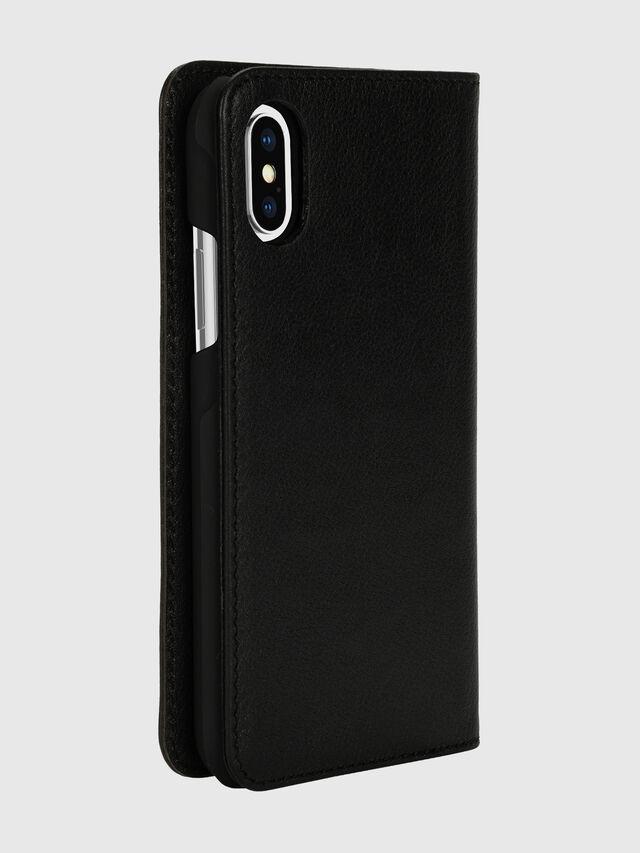 Diesel - DIESEL 2-IN-1 FOLIO CASE FOR IPHONE XS & IPHONE X, Black/White - Flip covers - Image 4