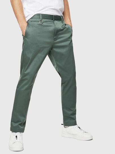 Diesel - P-MAD-ICHIRO, Olive Green - Pants - Image 1