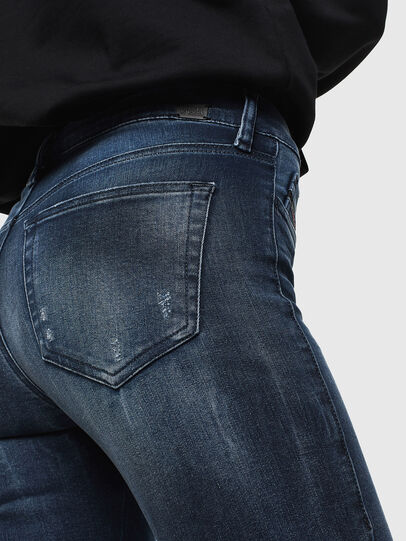 Diesel - Slandy 0096K, Dark Blue - Jeans - Image 4