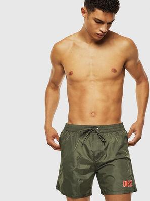 BMBX-WAVE 2.017, Green - Swim shorts
