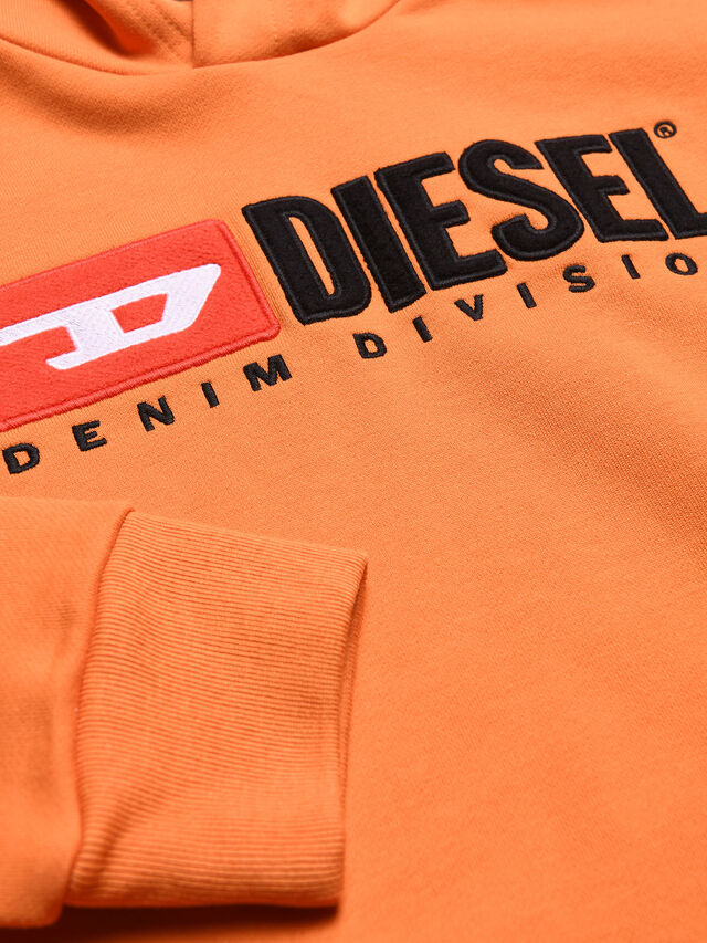 Diesel - SDIVISION OVER, Orange - Sweaters - Image 3