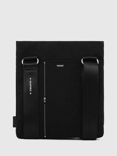 Diesel - F-URBHANITY CROSS ZP, Black - Crossbody Bags - Image 4