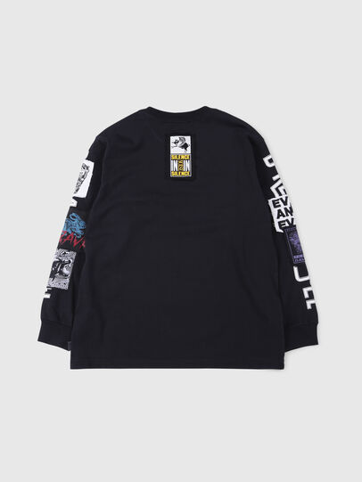 Diesel - TJUSTLSWA OVER,  - T-shirts and Tops - Image 2