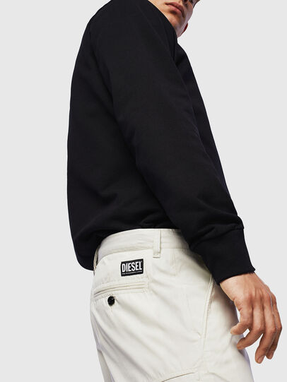 Diesel - P-MATTHEW, White - Shorts - Image 4