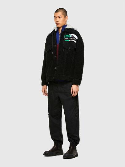 Diesel - W-GARY, Black - Winter Jackets - Image 6