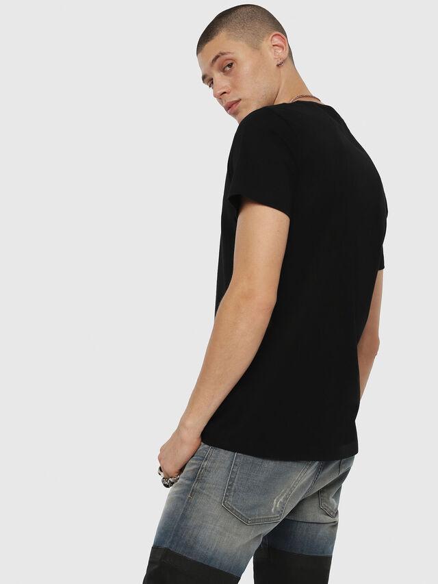 Diesel - T-DIEGO-YH, Black - T-Shirts - Image 2