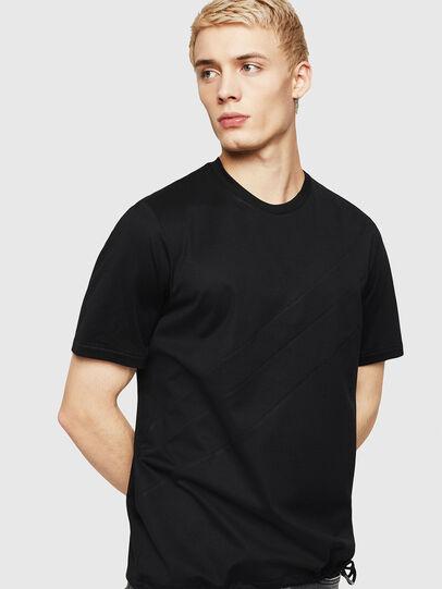 Diesel - T-ALEKSEY, Black - T-Shirts - Image 1