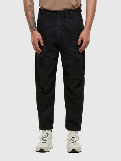 Diesel - D-Luks 009IB, Dark Blue - Jeans - Image 1