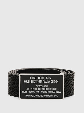 B-LAZISE, Black - Belts