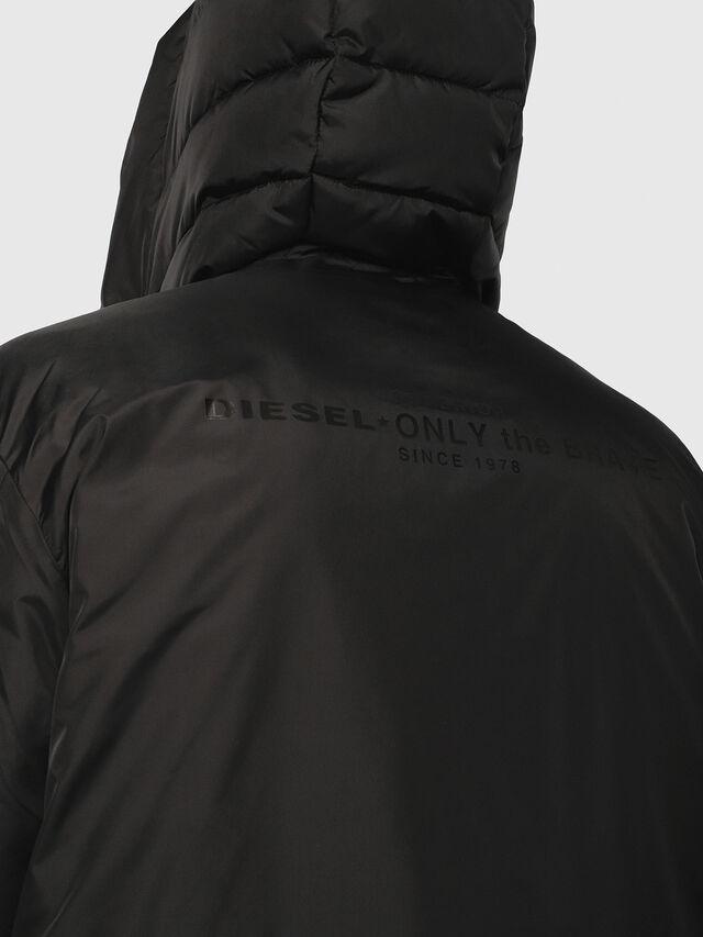Diesel - W-SUN-REV-A, Black - Winter Jackets - Image 4