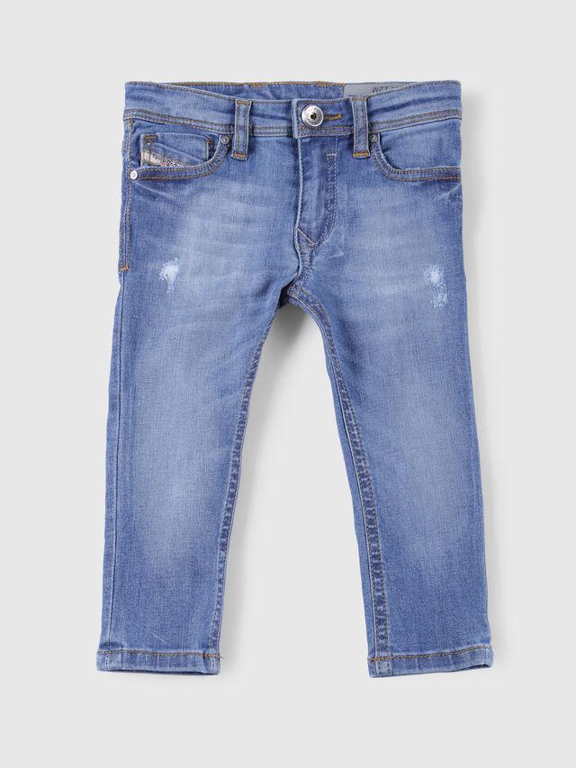Diesel - SLEENKER-B-N, Blue Jeans - Jeans - Image 1