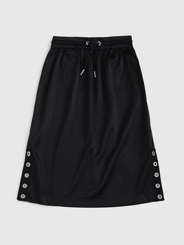 Diesel - GRHONX, Black - Skirts - Image 1