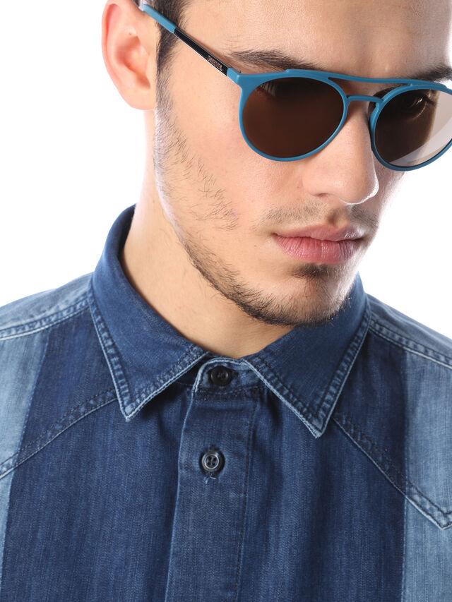 Diesel DM0195, Blue - Eyewear - Image 5