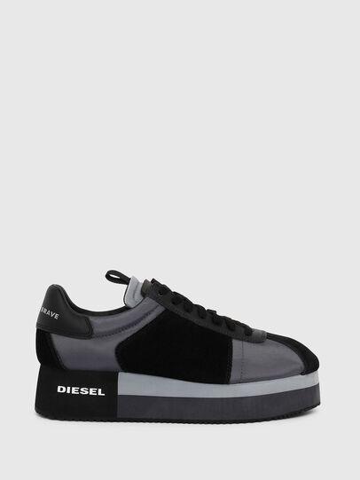 Diesel - S-PYAVE WEDGE, Blue/Black - Sneakers - Image 1