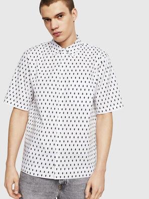 S-FRY-SKULL, White - Shirts