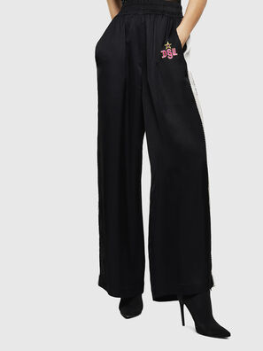 P-ROLEN-A, Black - Pants