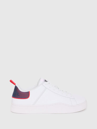 Diesel - S-CLEVER LOW LACE, White/Red - Sneakers - Image 1