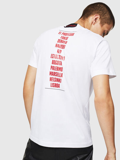 Diesel - LCP-T-DIEGO-CASA, White - T-Shirts - Image 3