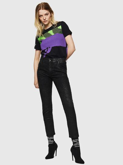 Diesel - Krailey JoggJeans 084AG, Black/Dark grey - Jeans - Image 6