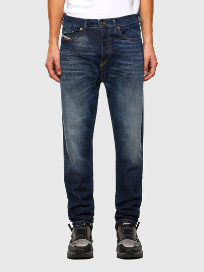 Diesel - D-Vider 009GQ, Dark Blue - Jeans - Image 1